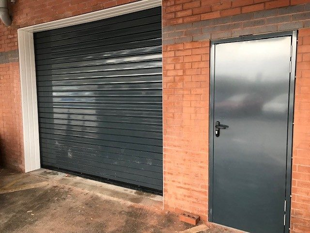 Steel Hinged Door and Roller Shutter