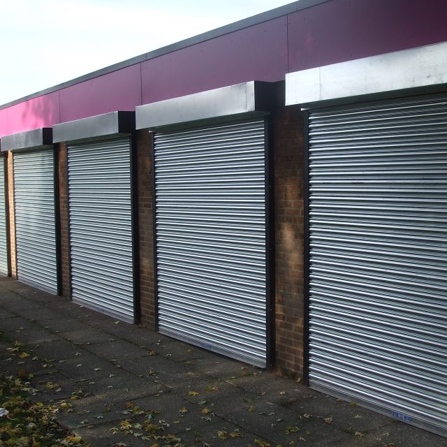Solid Galvanised Steel Roller Shutters