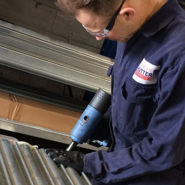 CSS engineer building a roller shutter